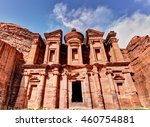 The Monastery In Petra  Despit...
