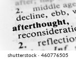 Small photo of Afterthought