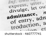 Small photo of Admittance