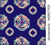 tie dye batik pattern  vector... | Shutterstock .eps vector #460817929