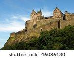 edinburgh castle | Shutterstock . vector #46086130