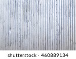 Exterior Corrugated Metal Wall