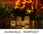 christmas decoration for the... | Shutterstock . vector #460891027