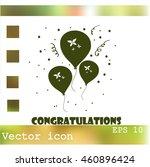 balloons vector icon
