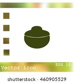 bowl vector icon | Shutterstock .eps vector #460905529