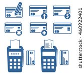 set of credit cards icons. pos...