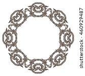 vector illustration of mandala  ... | Shutterstock .eps vector #460929487