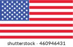 america nation flag. the united ... | Shutterstock . vector #460946431