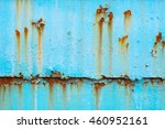 rusted metal texture background. | Shutterstock . vector #460952161
