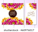 vintage delicate invitation... | Shutterstock .eps vector #460976017