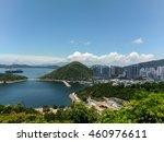 harbour view hong kong island... | Shutterstock . vector #460976611