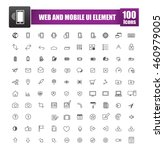 simple line icons for web...