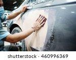 car body work auto repair paint ... | Shutterstock . vector #460996369