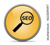 seo icon. internet button . 3d...