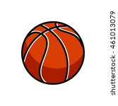 basket ball illustration vector | Shutterstock .eps vector #461013079