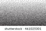 vector halftone dots. black... | Shutterstock .eps vector #461025301