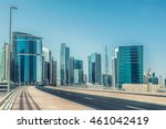 dubai business bay  united arab ... | Shutterstock . vector #461042419