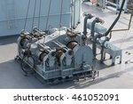 Windlass On The Ship