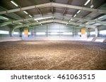 empty riding arena is suitable ... | Shutterstock . vector #461063515