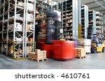 busy warehouse with pallet... | Shutterstock . vector #4610761