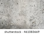 Close Up Of Old Cement Wall...