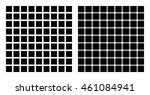 hermann grid and scintillating... | Shutterstock .eps vector #461084941