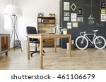 new style flat with ethnic... | Shutterstock . vector #461106679