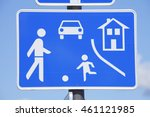 road  sign game  road t ... | Shutterstock . vector #461121985