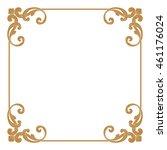 Premium gold vintage baroque ornament. Frame border. Borders vector. Vintage frame vector. Vintage frame. Picture frame vector. Border. Photo frame vector. Picture frame. Photo frame. Frame design.