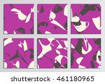 placards or posters. corporate...   Shutterstock .eps vector #461180965