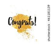 template design greeting card... | Shutterstock .eps vector #461181139
