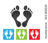 Footprint Icon. Simple Logo Of...