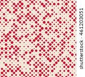classic seamless polka dot... | Shutterstock .eps vector #461203051