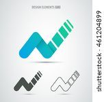 business corporate identity... | Shutterstock .eps vector #461204899