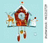 Christmas Cuckoo Clock With...