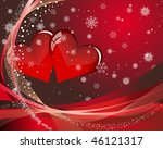 abstract valentine's day card.... | Shutterstock .eps vector #46121317