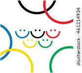 Olympic Smiles. Cover Design....