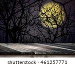 Empty Grunge Plank Wooden Tabl...