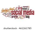 vector concept or conceptual... | Shutterstock .eps vector #461261785