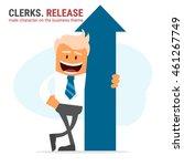 illustration of office theme....   Shutterstock .eps vector #461267749