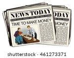 stock illustration. people in... | Shutterstock .eps vector #461273371