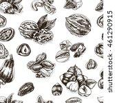 vector background sketch...   Shutterstock .eps vector #461290915