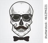 bearded skull illustration | Shutterstock .eps vector #461294221