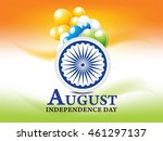 independence day background... | Shutterstock .eps vector #461297137