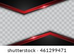 abstract modern metallic silver ... | Shutterstock .eps vector #461299471