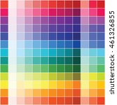 flat color palette  vector  | Shutterstock .eps vector #461326855