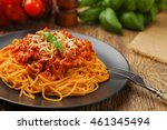 Delicious Spaghetti Served On ...
