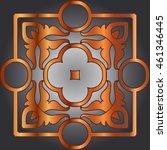 vector design elements abstract ... | Shutterstock .eps vector #461346445