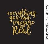 hand lettering inscription... | Shutterstock .eps vector #461348299