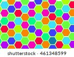 abstract colorful background... | Shutterstock . vector #461348599